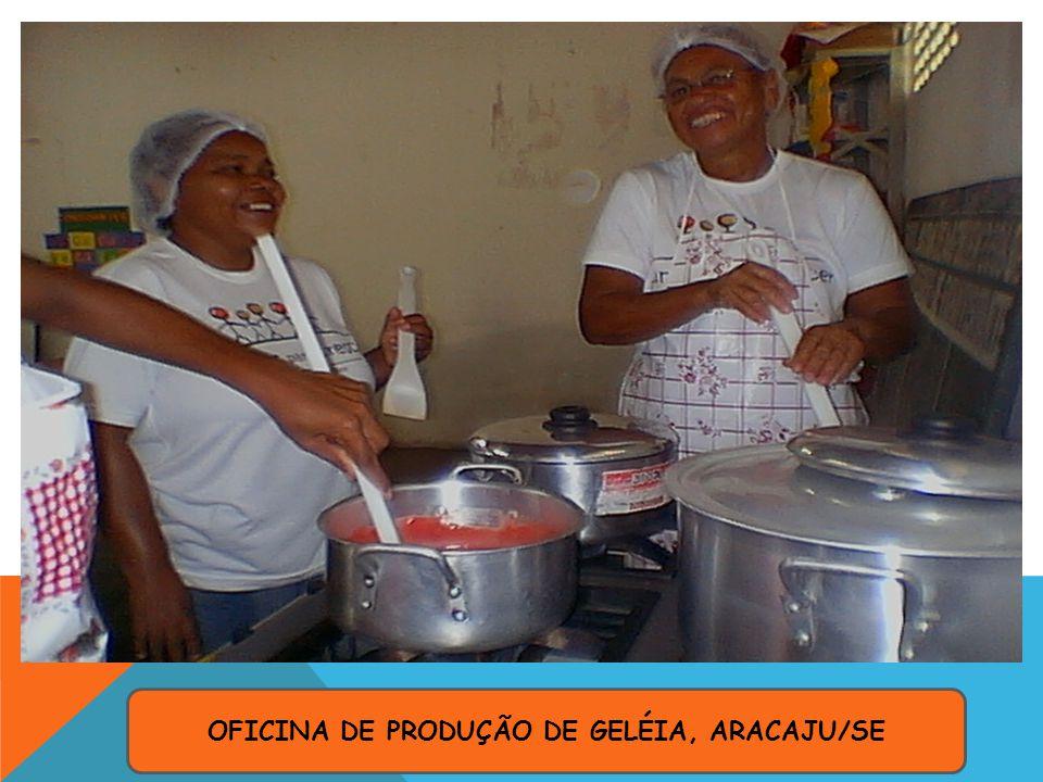 OFICINA DE PRODUÇÃO DE GELÉIA, ARACAJU/SE