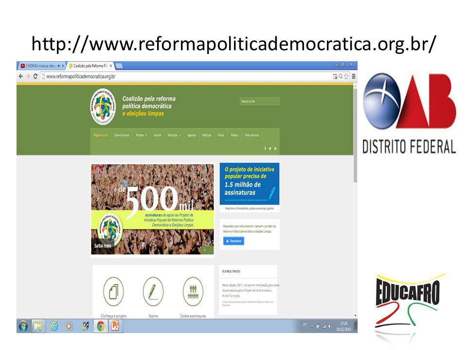 http://www.reformapoliticademocratica.org.br/
