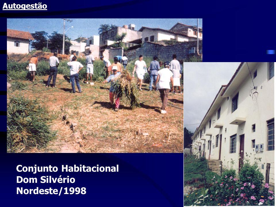 Conjunto Habitacional Dom Silvério Nordeste/1998