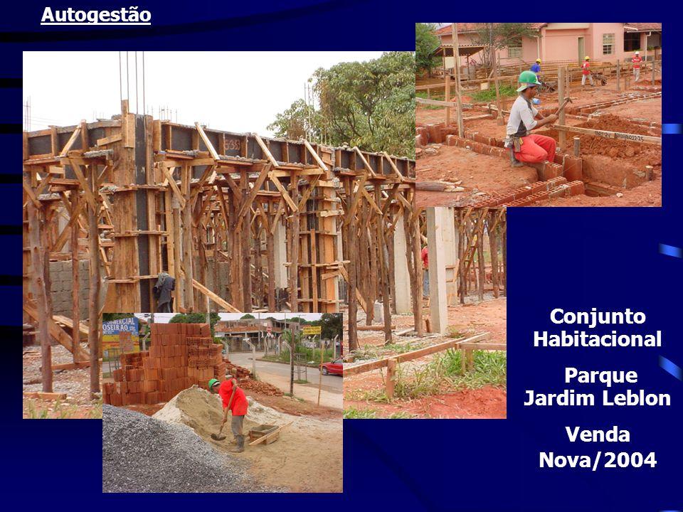 Conjunto Habitacional Parque Jardim Leblon Venda Nova/2004