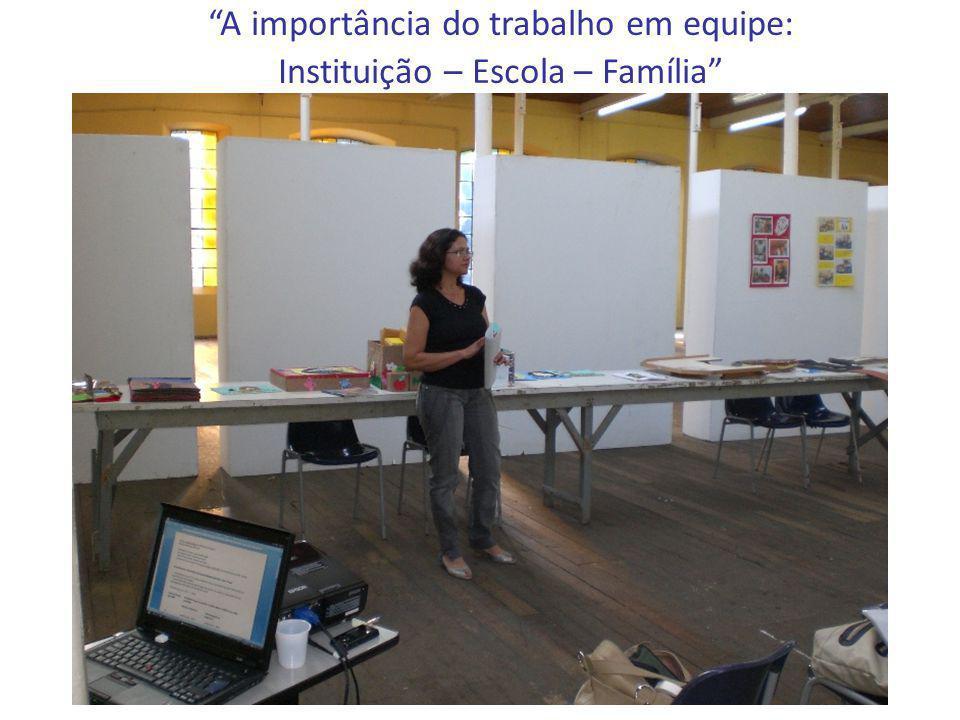 A importância do trabalho em equipe: Instituição – Escola – Família