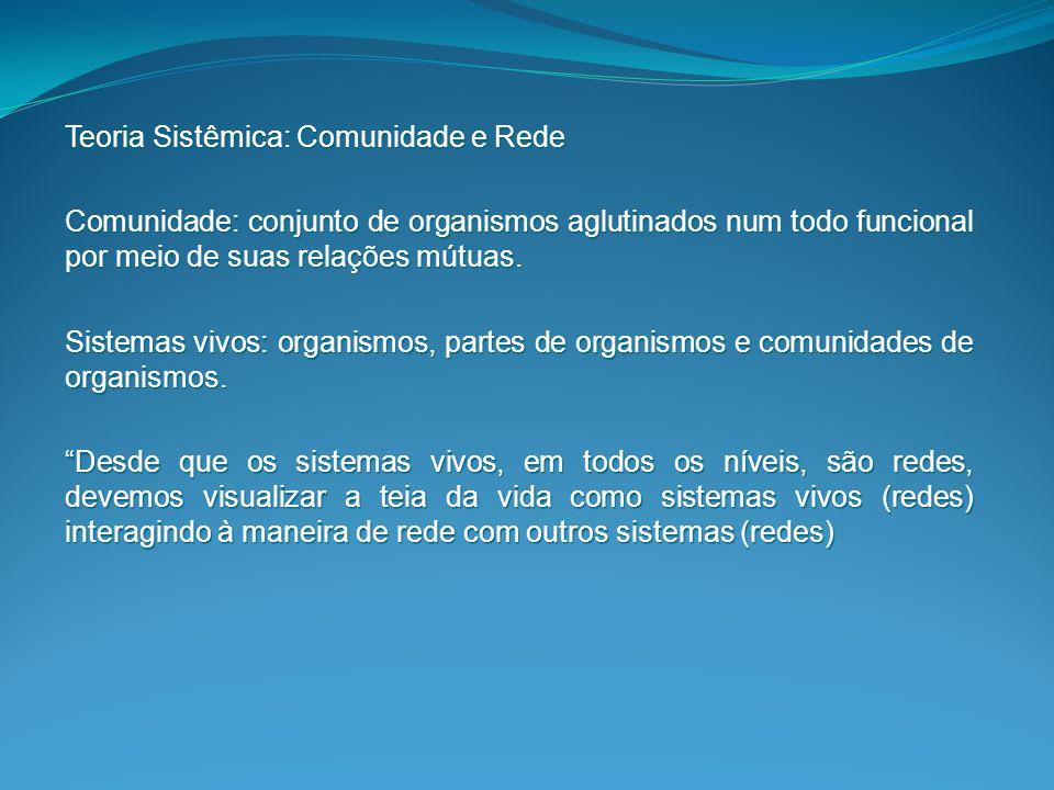 Níveis de Organização do Sistema Critérios de Organização: 1.