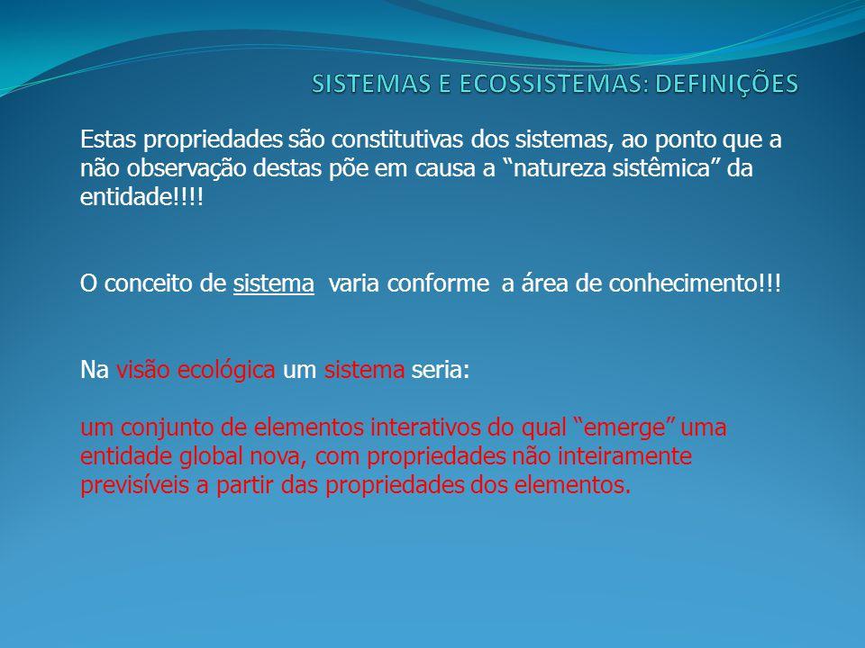 Três princípios da Sistêmica: 1.Princípio da Dependência Interativa: Os elementos são as unidades funcionais do sistema; as suas estruturas e as suas dinâmicas dependem umas das outras .