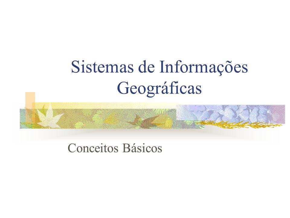 Sistemas de Informações Geográficas Conceitos Básicos