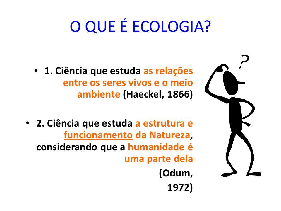 EXERCÍCIO DE FIXAÇÃO 1 4 – Defina: A) espécie B) população C) sociedade D) seres bióticos E) seres abióticos F) comunidade 5 – Explique o grau de organização do ser vivo.
