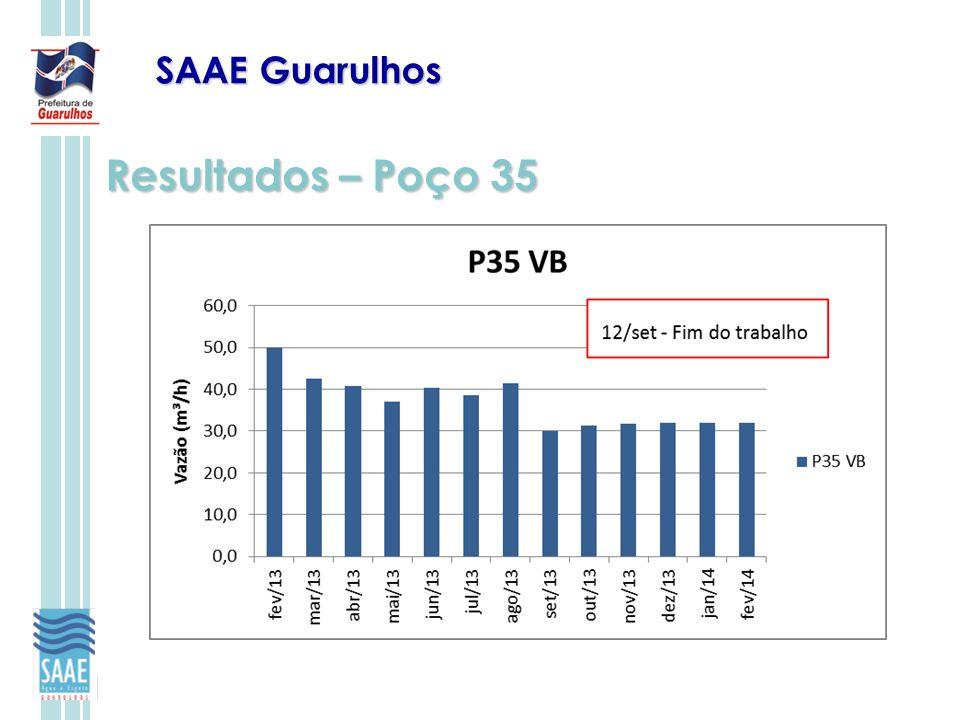 SAAE Guarulhos Resultados – Poço 35