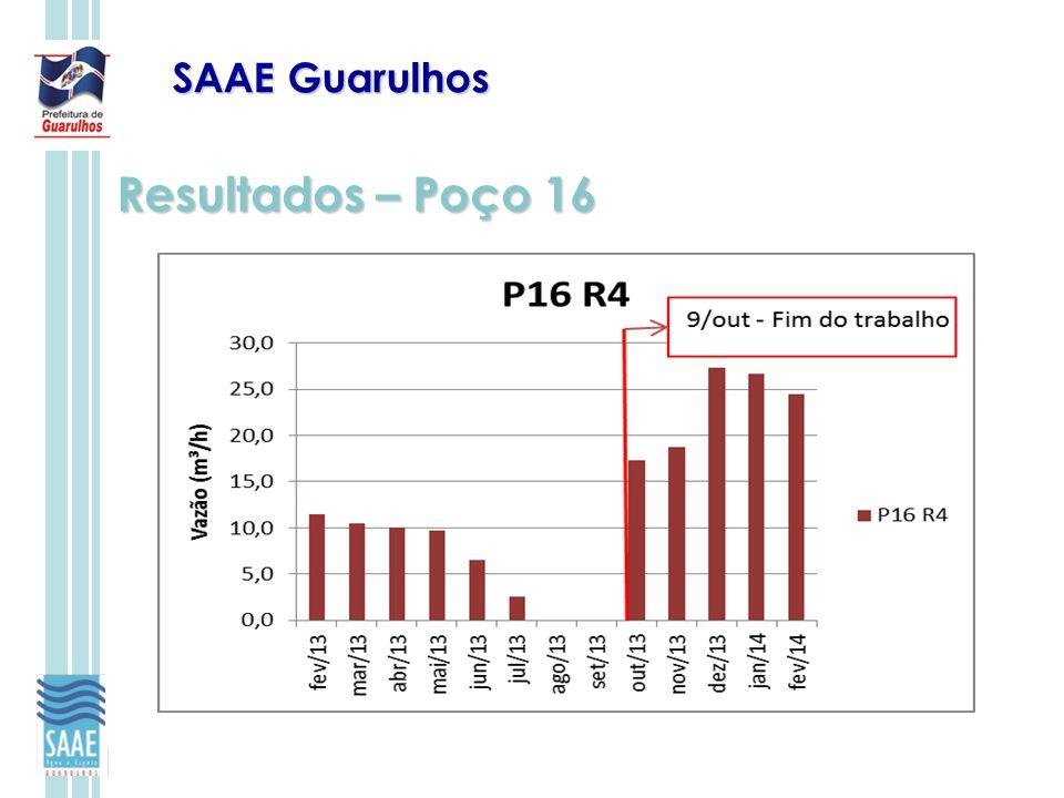 SAAE Guarulhos Resultados – Poço 16