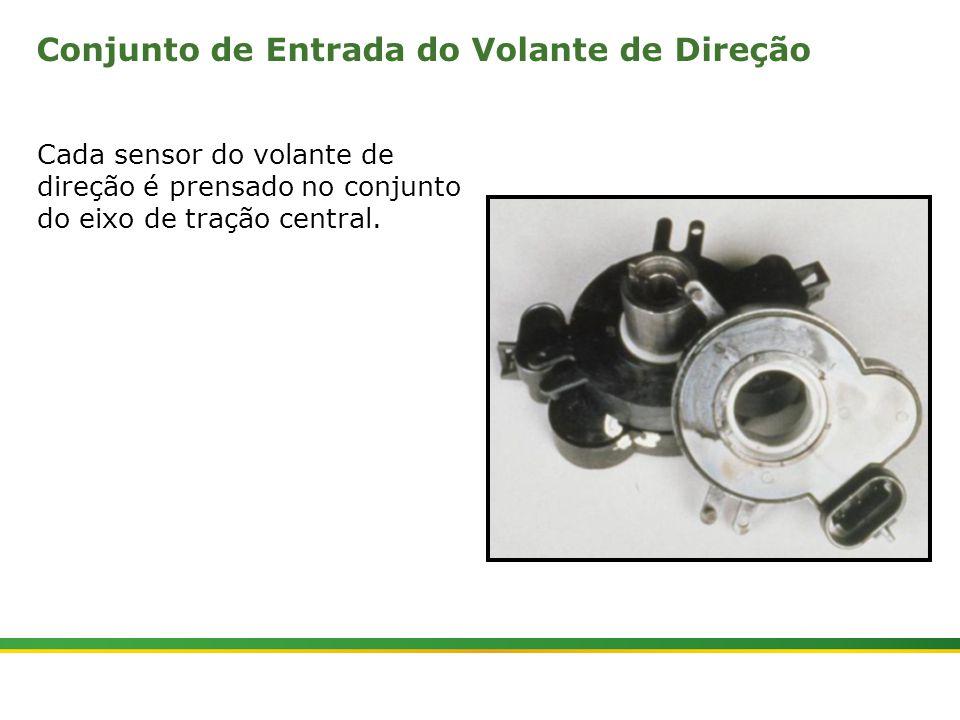 |Colhedora de Cana 3520 & 3522 : Gemini | Janeiro, 201018 Conjunto de Entrada do Volante de Direção Cada sensor do volante de direção é prensado no co