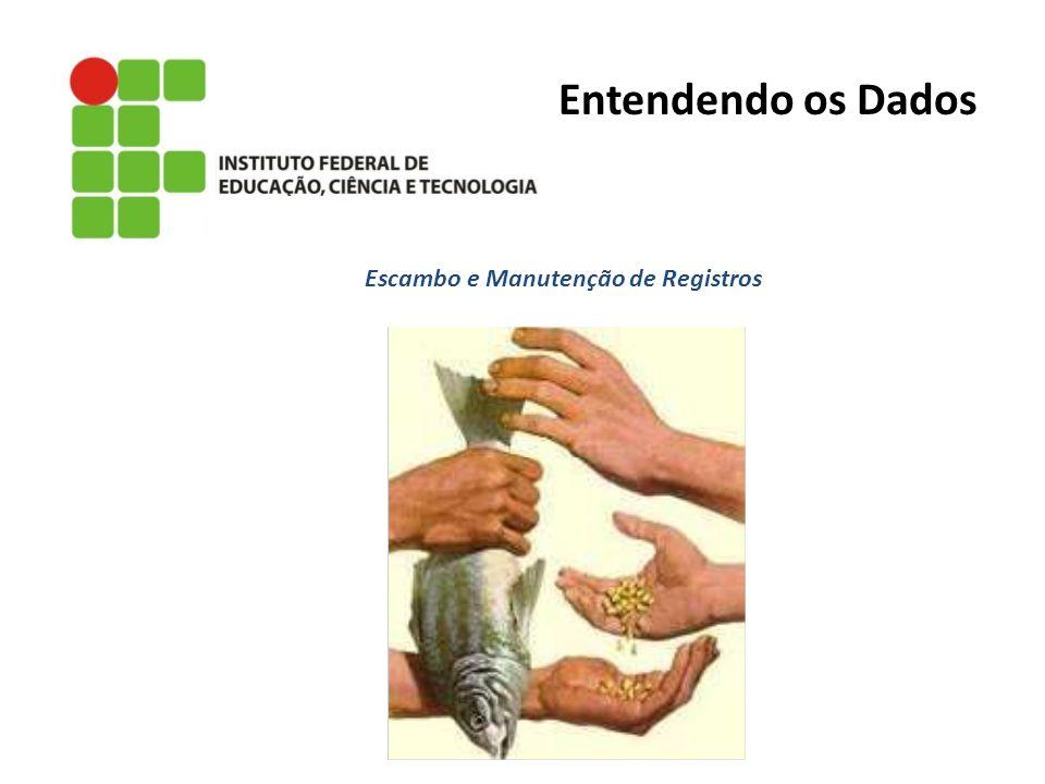 Escambo e Manutenção de Registros Entendendo os Dados