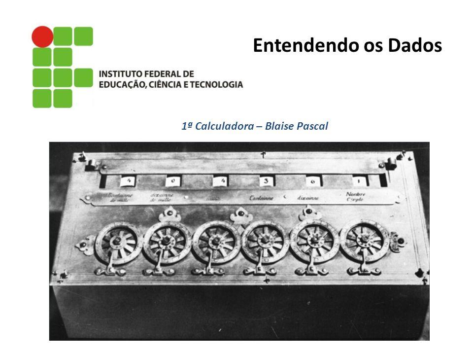 1ª Calculadora – Blaise Pascal Entendendo os Dados