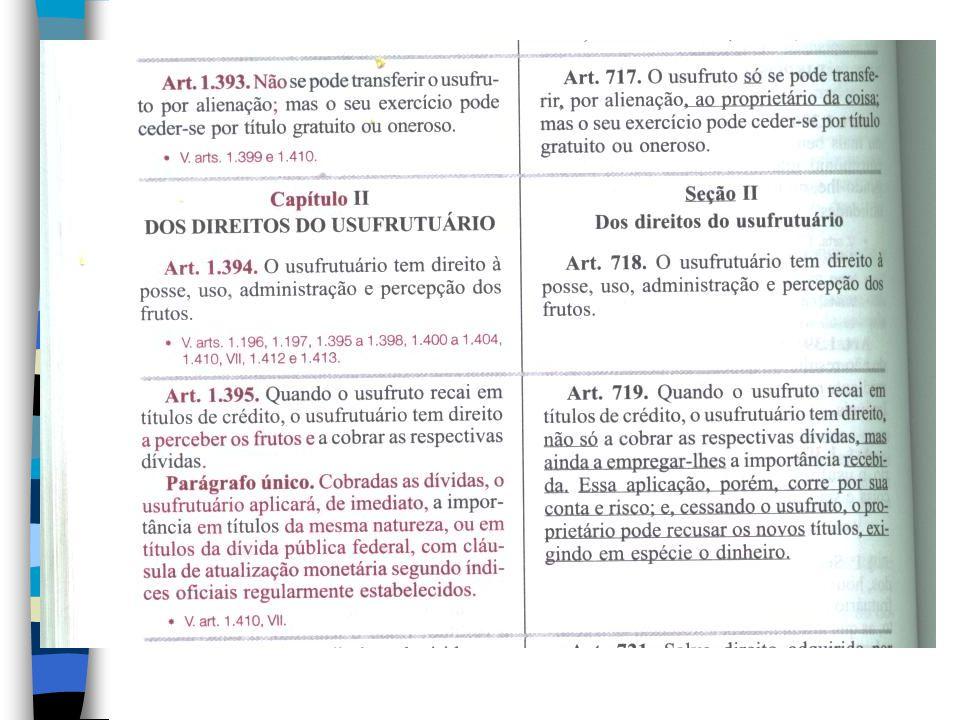 3.EXTINÇÃO DO USUFRUTO (art.