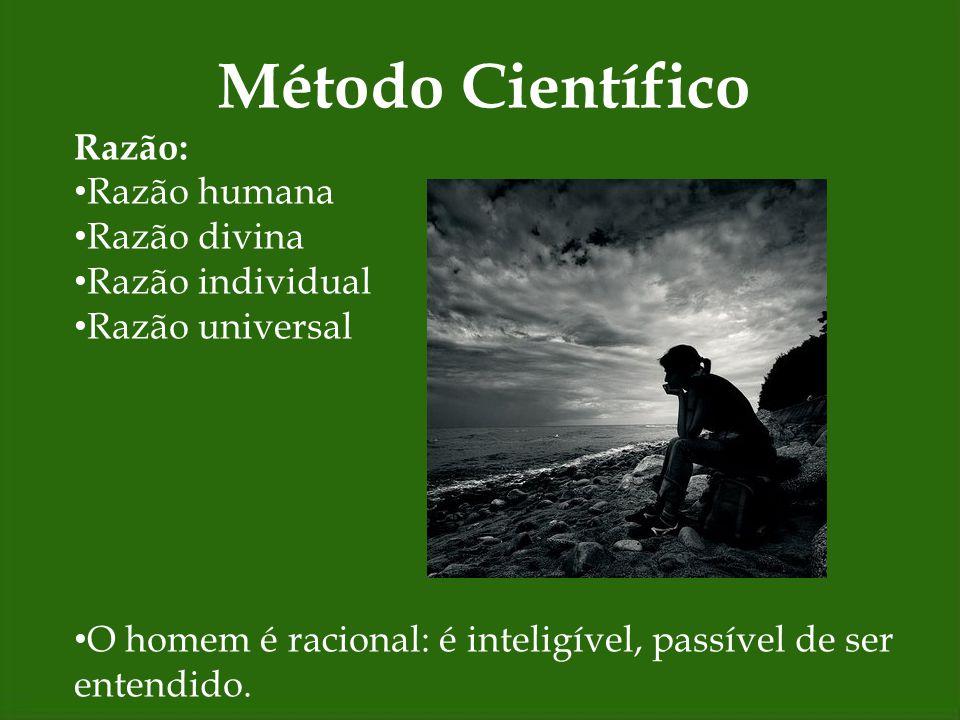 Método Científico Sistemático: Todo organizado, interconectado em suas partes.
