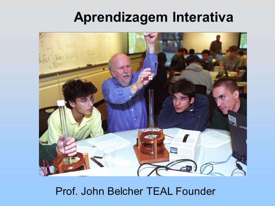 Aprendizagem Interativa Prof. John Belcher TEAL Founder