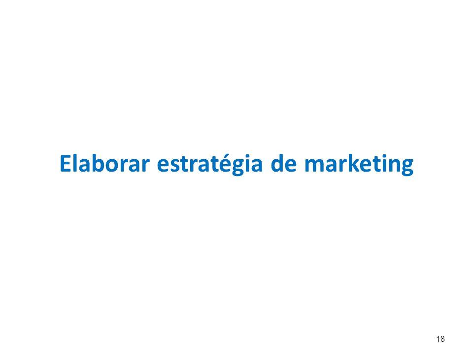 18 Elaborar estratégia de marketing