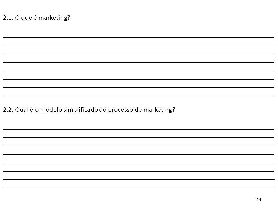 44 2.1.O que é marketing.