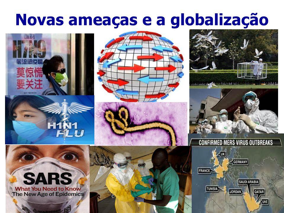 Novas ameaças e a globalização