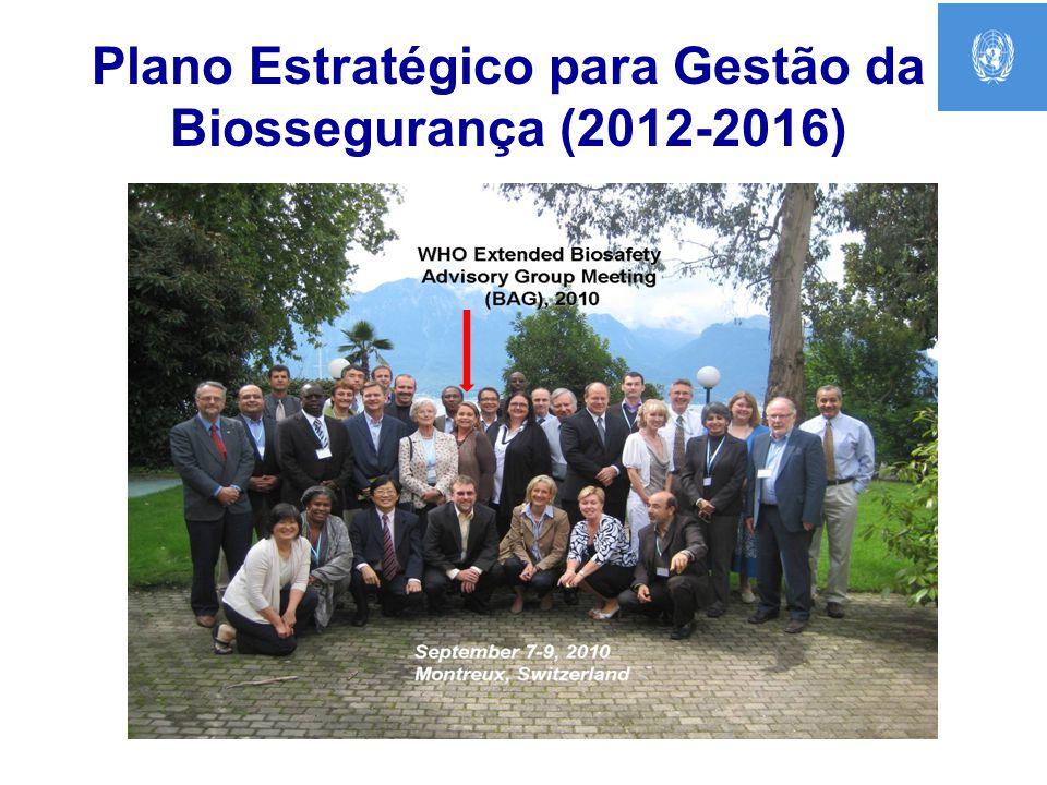 Plano Estratégico para Gestão da Biossegurança (2012-2016)