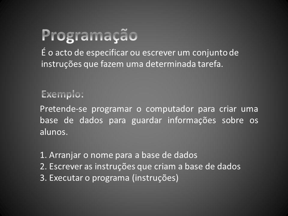 As tarefas 1, 2, 3, especificadas acima foram escritas em Português.