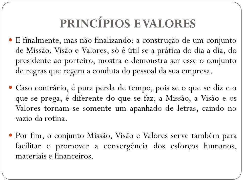 PRINCÍPIOS Conceito de Princípios: Princípios são preceitos, leis ou pressupostos considerados universais que definem as regras pela qual uma sociedade civilizada deve se orientar.