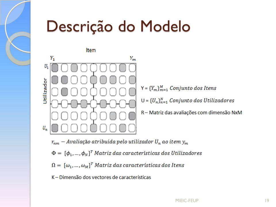 Descrição do Modelo MIEIC-FEUP19