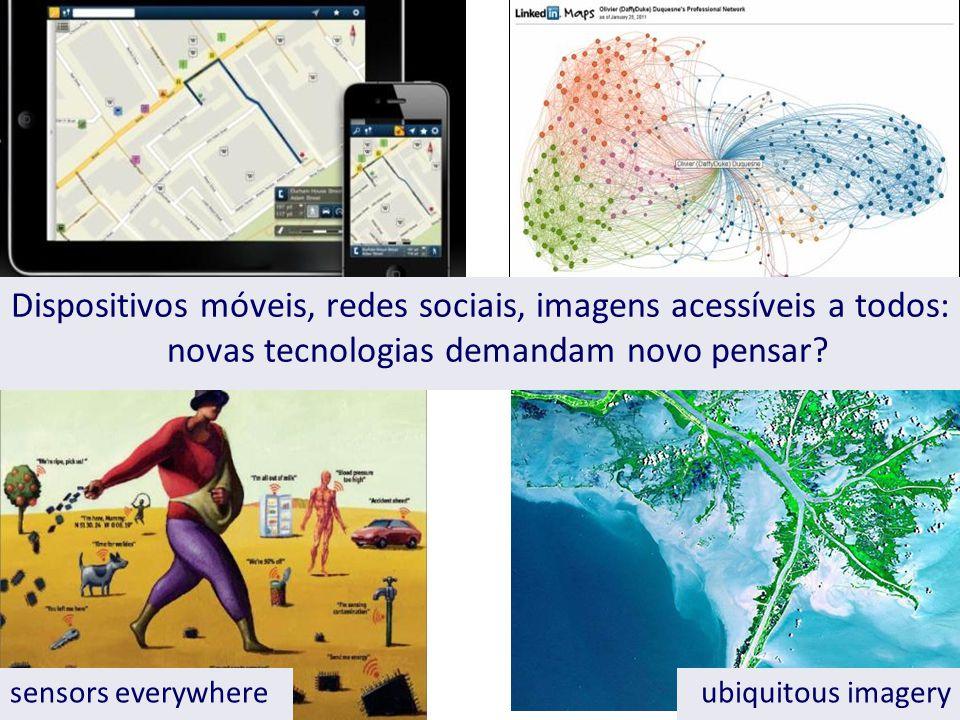 sensors everywhereubiquitous imagery Dispositivos móveis, redes sociais, imagens acessíveis a todos: novas tecnologias demandam novo pensar