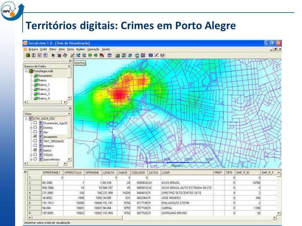 Territórios digitais: Crimes em Porto Alegre