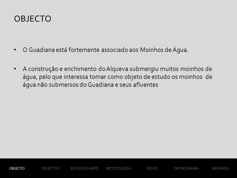 O Guadiana está fortemente associado aos Moinhos de Água.