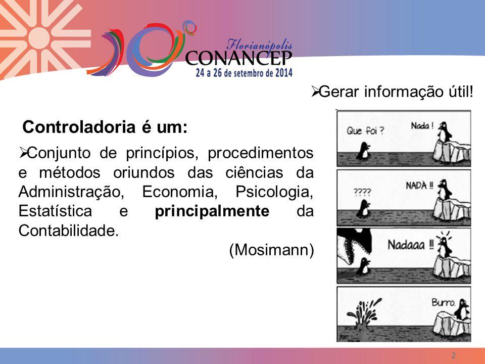 2  Conjunto de princípios, procedimentos e métodos oriundos das ciências da Administração, Economia, Psicologia, Estatística e principalmente da Cont