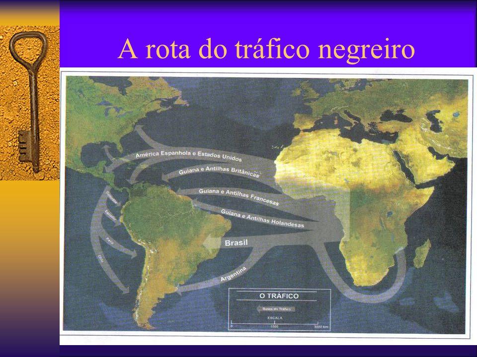 A condição de escravo As diferentes etnias e o trabalho escravo O trabalho escravo e os castigos