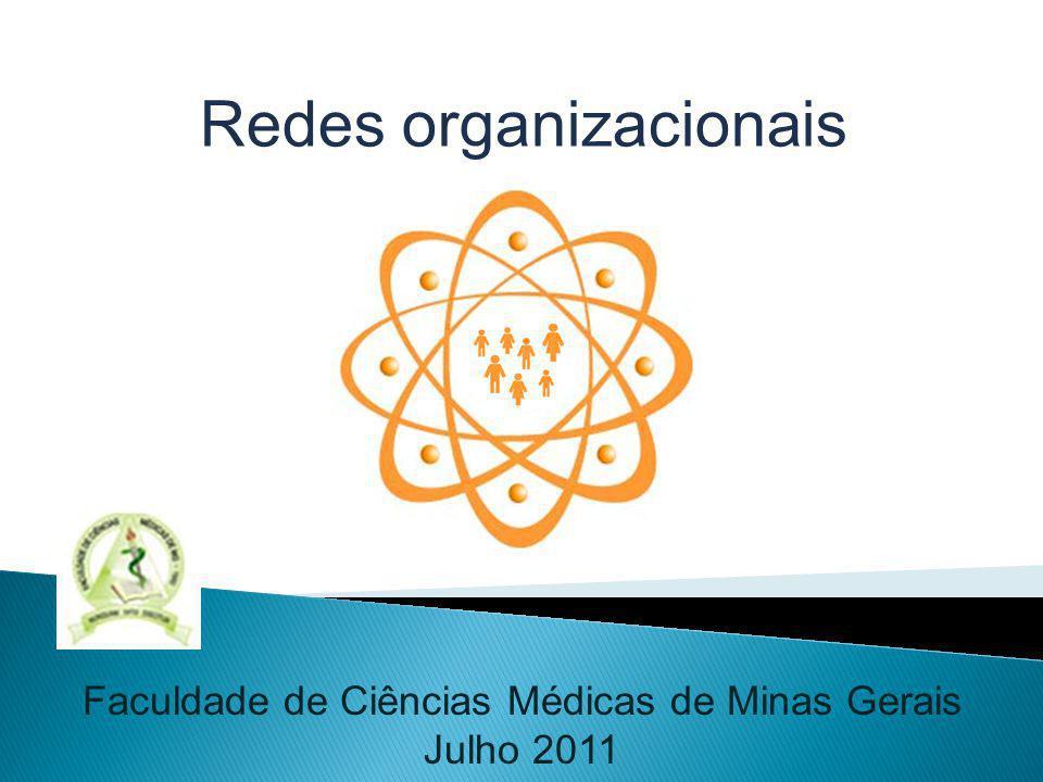 Faculdade de Ciências Médicas de Minas Gerais Julho 2011 Redes organizacionais