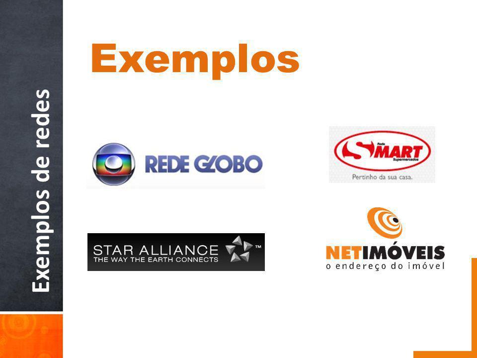 Exemplos de redes Exemplos