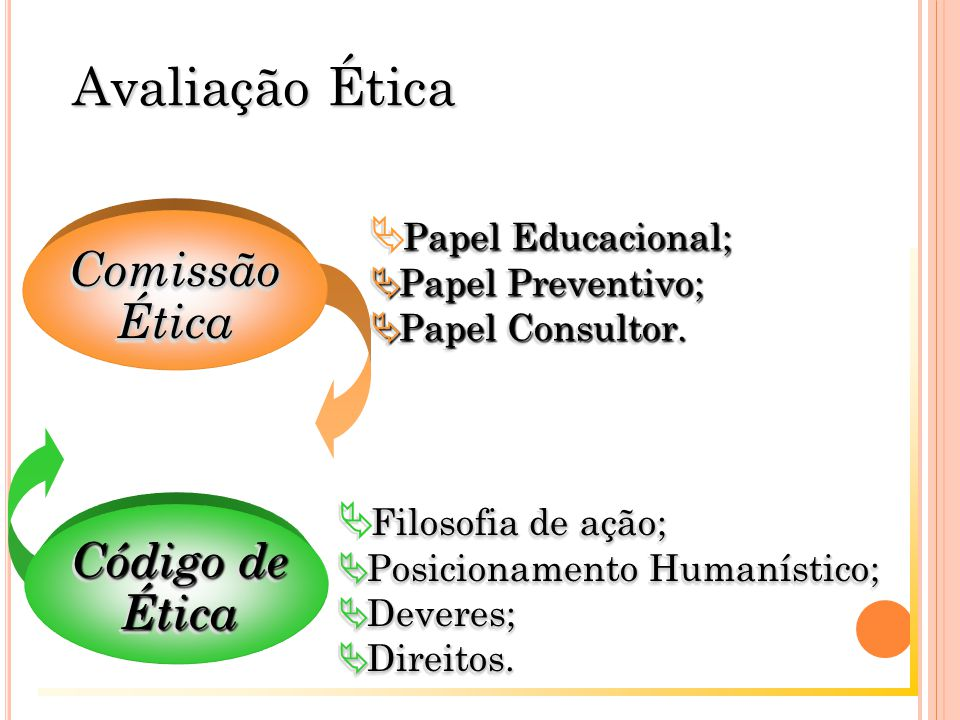 Papel Educacional;  Papel Educacional;  Papel Preventivo;  Papel Consultor.