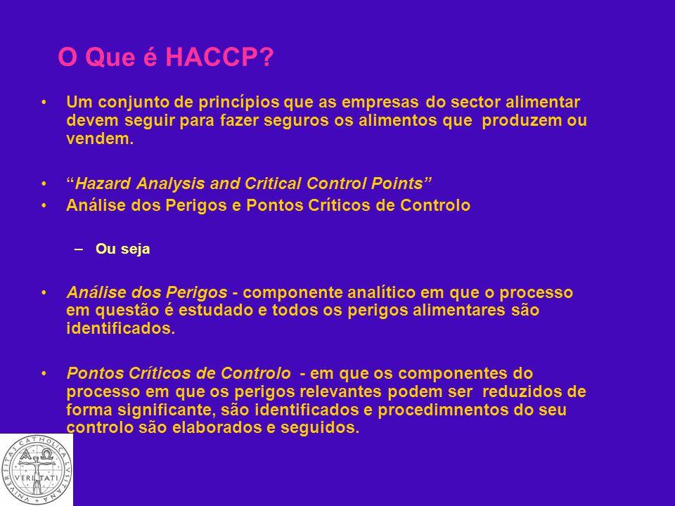 Certificação e HACCP Tim Hogg Escola Superior de Biotecnologia, Universidade Católica Portuguesa APCER, LISBOA 29/06/2004