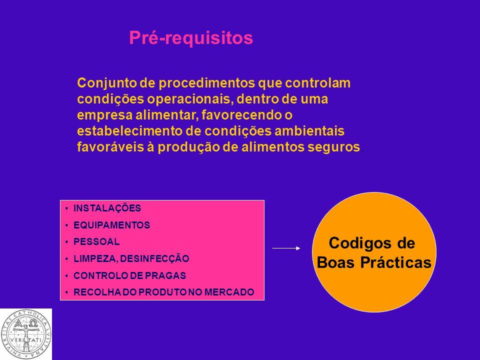 Como HACCP é implementado Os princípios de HACCP só funcionam quando existe uma envolvente propícia.