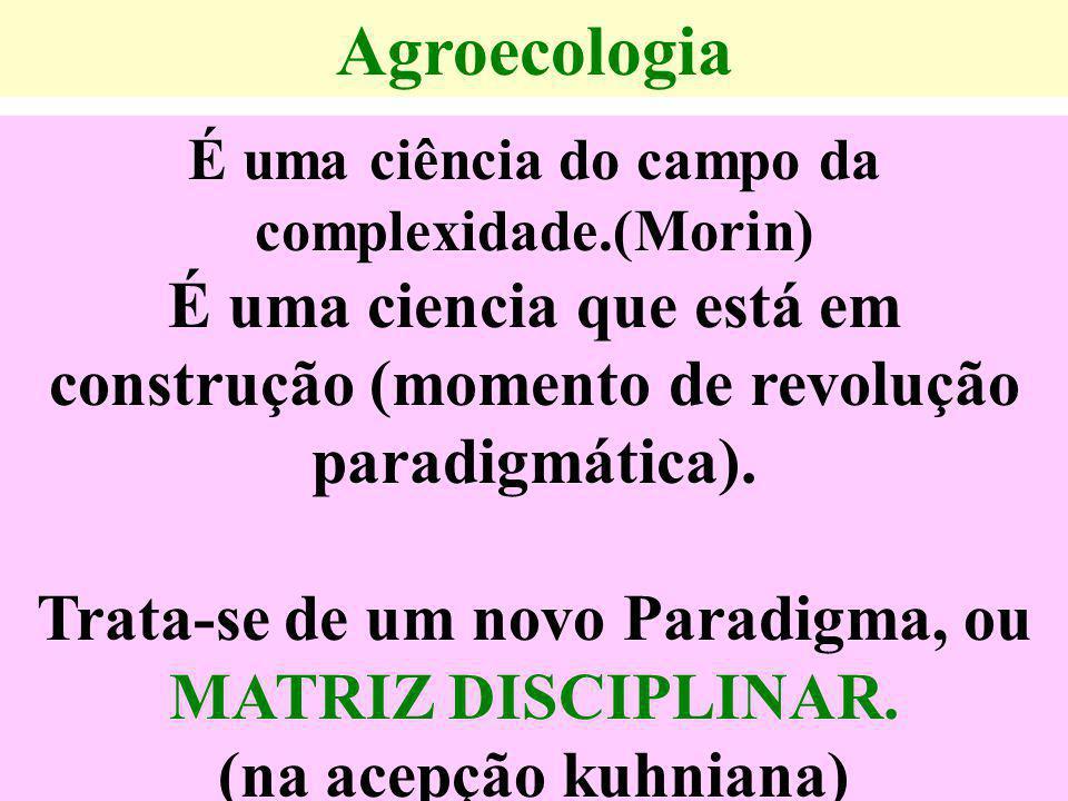 Algumas bases epistemológicas da AGROECOLOGIA  Os agroecossistemas variam de acordo com a natureza de seus componentes, sua conformação no tempo, no espaço e segundo o nível da intervenção humana.