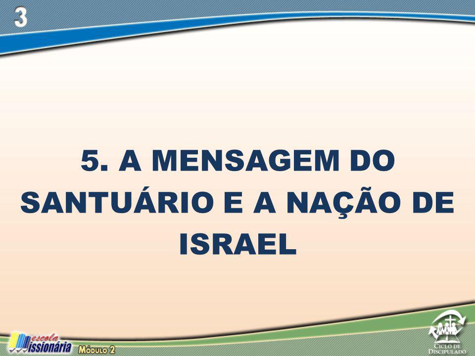 5. A MENSAGEM DO SANTUÁRIO E A NAÇÃO DE ISRAEL