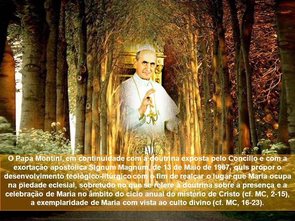 A verdadeira mudança sobre a natureza, os conteúdos e a finalidade dos exercícios piedosos, já anunciada pelo Concílio (cf.