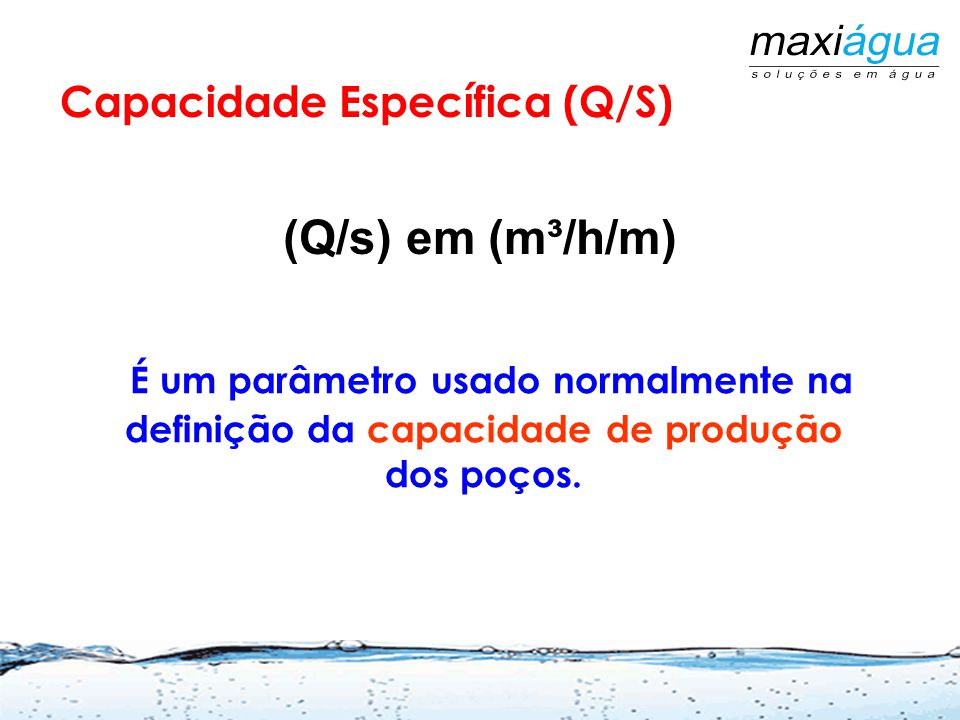 Solo CONE DE REBAIXAMENTO Souza, J.C.S. modificado Martins Netto, 2009 Abes