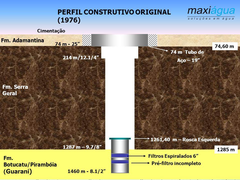 Estudo de caso A Recuperação do Poço SABESP Fernandópolis P15, Com 1460 M de Profundidade Com Ortofosfatos Ácidos