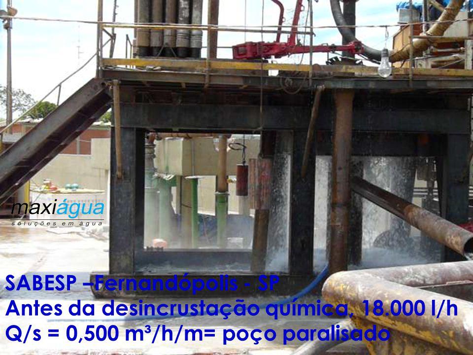 "PERFIL CONSTRUTIVO ORIGINAL (1976) Fm. Serra Geral Fm. Botucatu/Pirambóia ( Guarani) 1285 m 74 m - 25"" 214 m/12.1/4"" 74 m Tubo de Aço – 19"" 1287 m – 9"