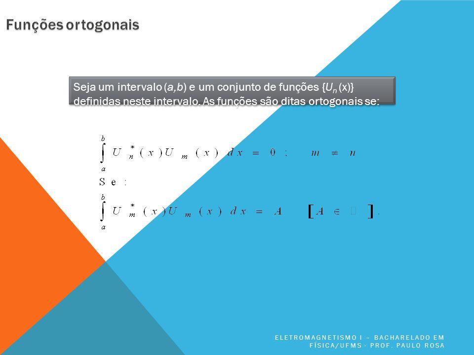 Seja um intervalo (a,b) e um conjunto de funções {U n (x)} definidas neste intervalo.