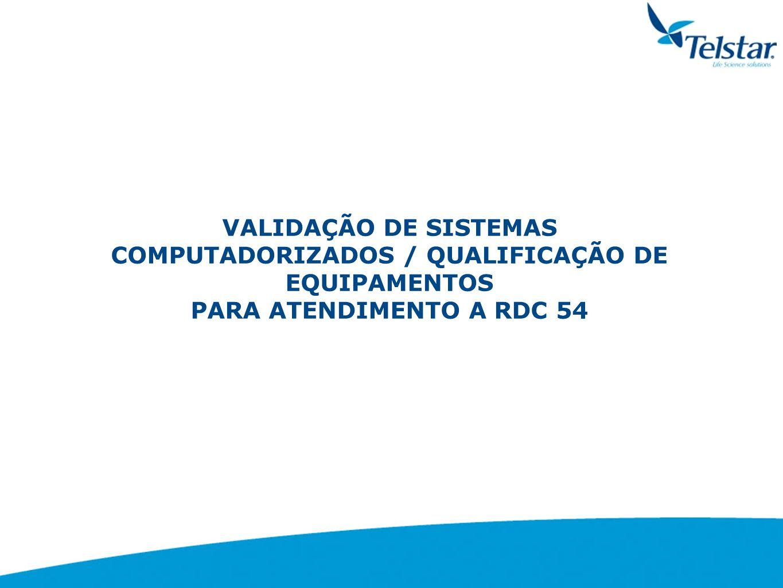 ETAPAS DO PROCESSO DE VALIDAÇÃO QUALIFICAÇÃO DE OPERAÇÃO Conjunto de operações que estabelece, sob condições especificadas, que o sistema ou subsistema opera conforme previsto, em todas as FAIXAS OPERACIONAIS consideradas.
