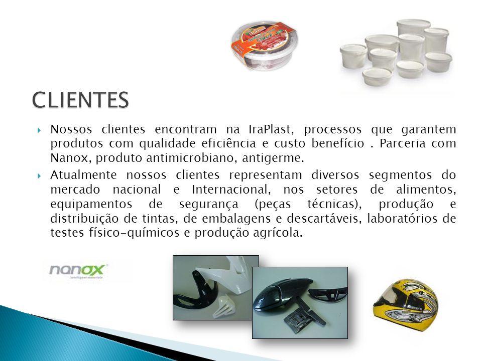  Nossos clientes encontram na IraPlast, processos que garantem produtos com qualidade eficiência e custo benefício.
