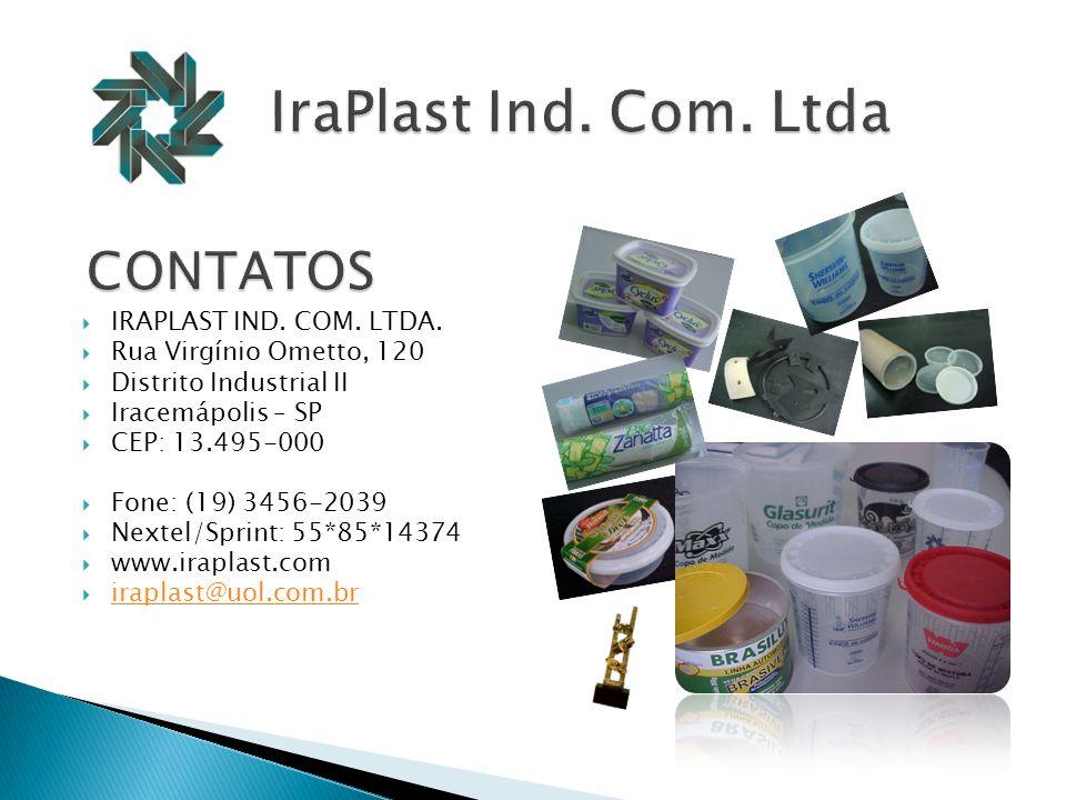  IRAPLAST IND.COM. LTDA.