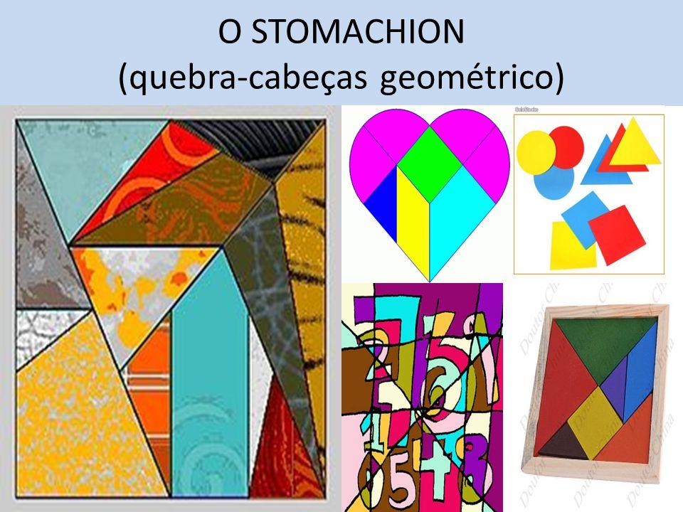 O STOMACHION (quebra-cabeças geométrico)