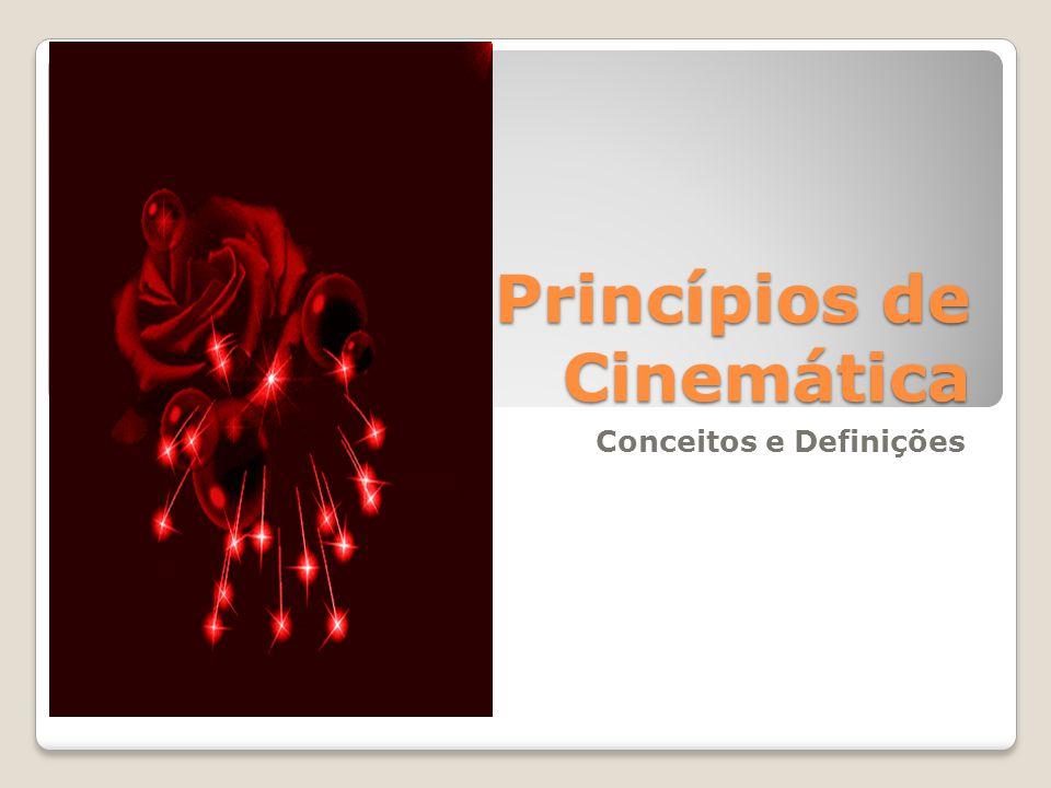 Cinemática A cinemática se preocupa com grandezas físicas que descrevem matematicamente as características do movimento de uma partícula/segmento, tais como posição, velocidade e aceleração, sem se preocupar com as forças que as causaram