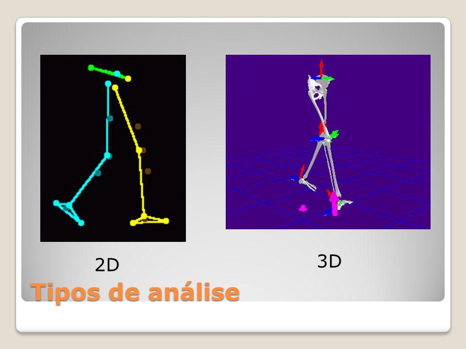 Tipos de análise 2D 3D