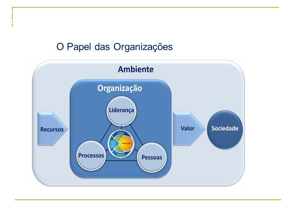 5 O Papel das Organizações Formação de Facilitadores – Cristal