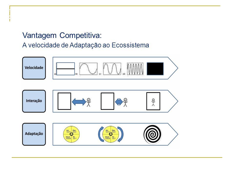 8 Vantagem Competitiva: A velocidade de Adaptação ao Ecossistema Formação de Facilitadores – Cristal