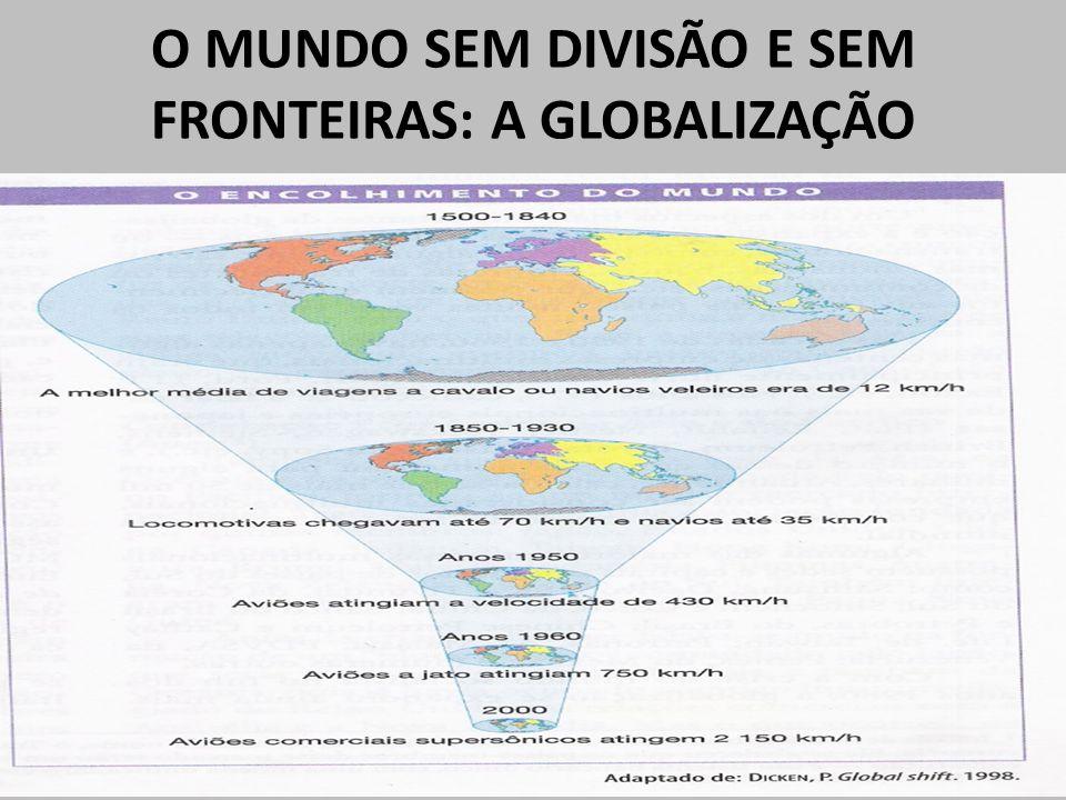 O MUNDO SEM DIVISÃO E SEM FRONTEIRAS: A GLOBALIZAÇÃO